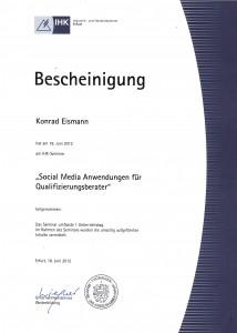 Social Media Anwendungen für Unternehmensberater